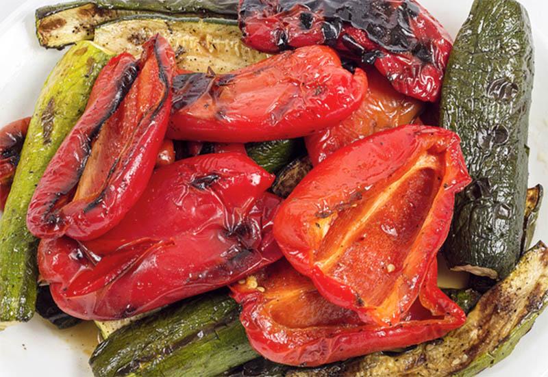 Классическое сочетание перца и цукини