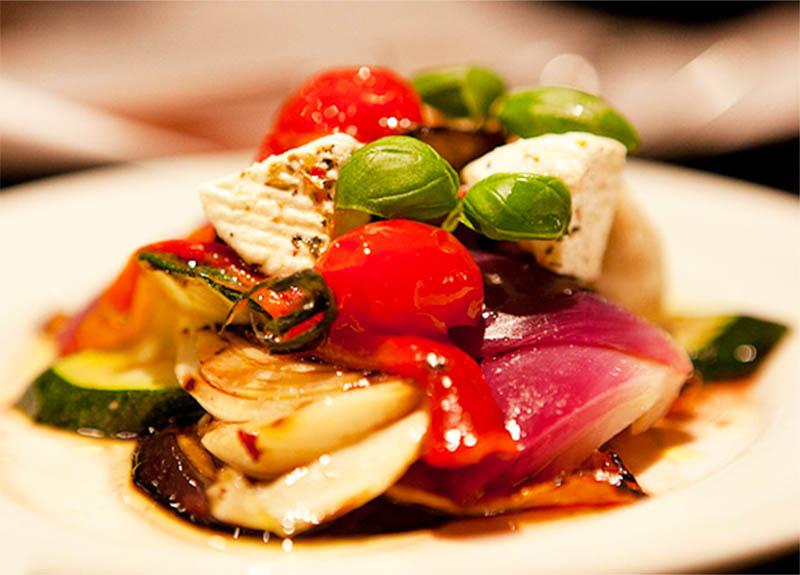 Рецепт овощи на гриле по-итальянски